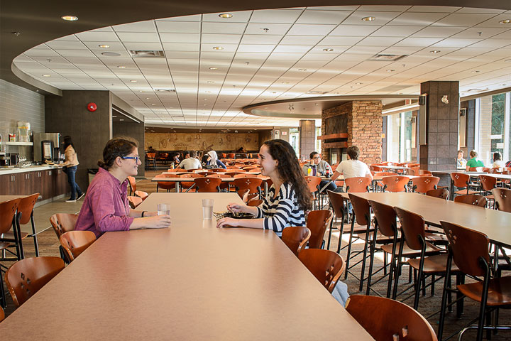 Place Vanier dining hall.