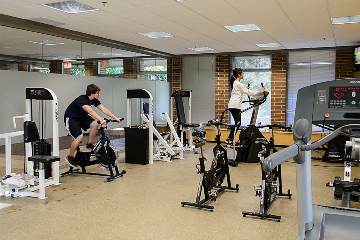 Place Vanier exercise room.