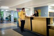 UBC Thunderbird residence Front Desk, open Monday to Friday.