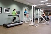 Fitness facilities, Totem Park residence, UBC.
