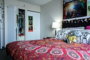 UBC Walter Gage Apartments one bedroom suite.