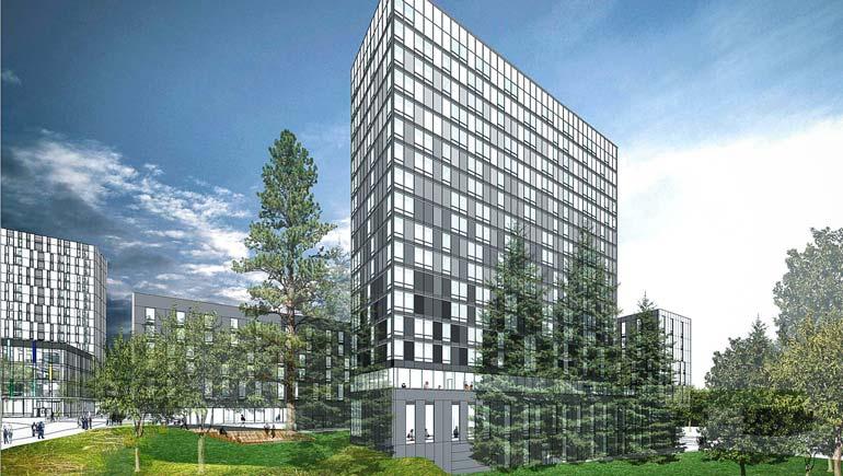 Ponderosa Commons phase 2 development rendering