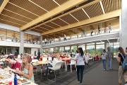 Dining facilities at Orchard Commons