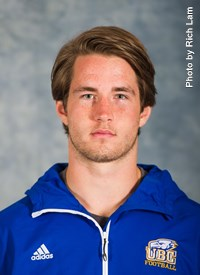 Karson Patommel is from Vernon, BC and is in his first-year of Kinesiology studies.