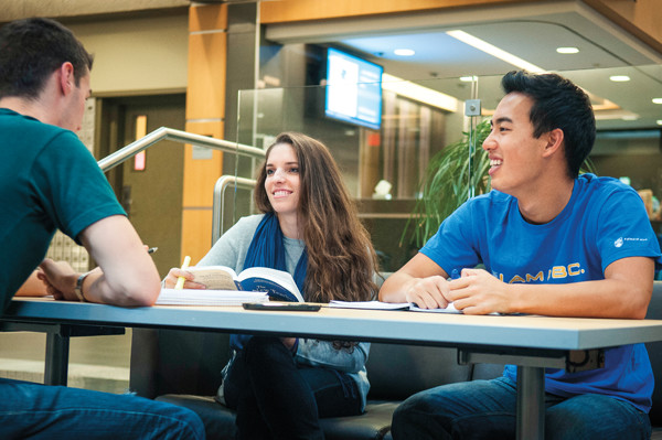Students Studying at UBC