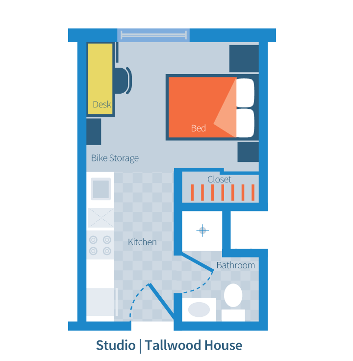 Brock Commons - Tallwood House Studio Floor Layout