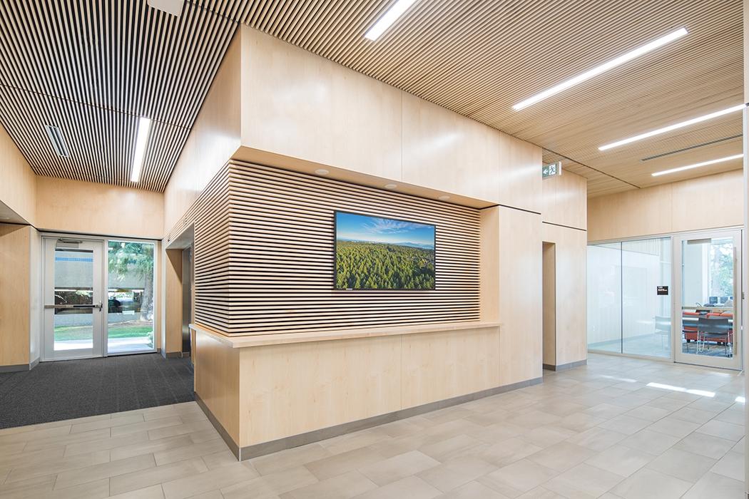 Tallwood House Ground Floor Lobby