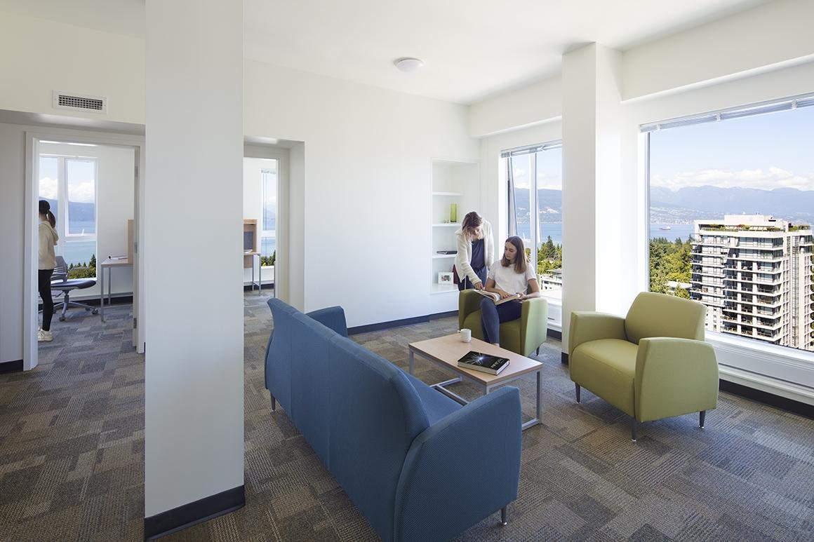 Tallwood House Quad Living Area
