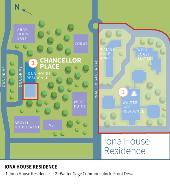 Iona House Residence Boundary