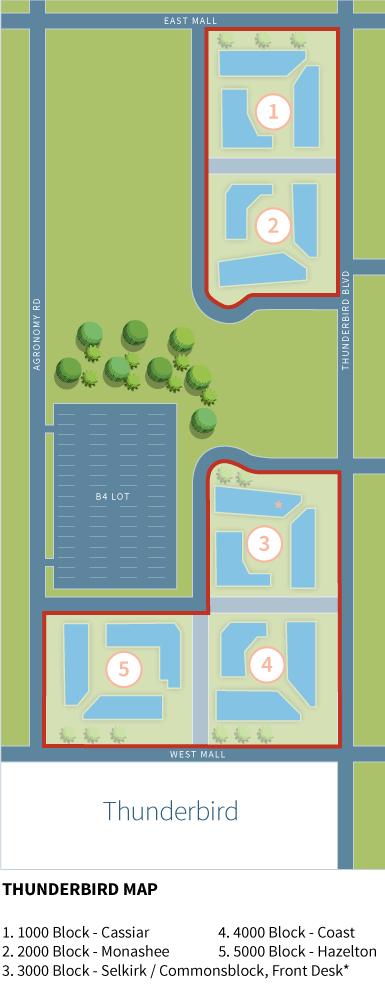 Thunderbird Residence Property Boundary