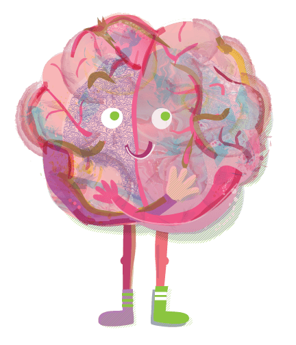 Happy Hugging Brain