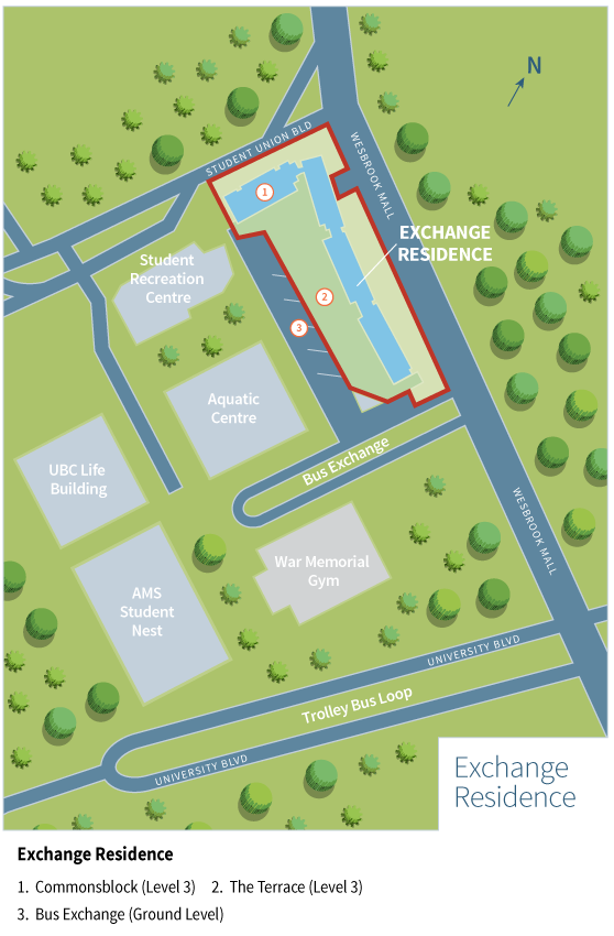 Exchange Residence Property Boundary